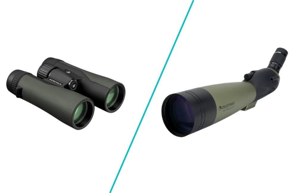 Spotting Scope vs. Binoculars